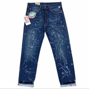 Levi's 1955 Rocket City Selvedge Big E 501 Jeans